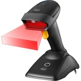 Adesso NUSCAN 2500TB Bluetooth Spill Resistant Antimicrobial 2D Barcode Scanner