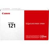 Canon Genuine Toner Cartridge 121 Black (3252C001), 1-Pack, for Canon Image CLASS D1650, D1620 Laser Printers