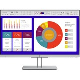 "HP E243p EliteDisplay 23.8"" LCD Monitor Black & Silver"