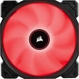 AF120 LED SINGLE PACK LOW NOISE COOLING FAN RED