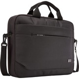 "Case Logic Advantage Carrying Case (Attaché) for 14"" Notebook, Tablet PC, Pen, Portable Electronics, Cord, Cellular Phone, File"