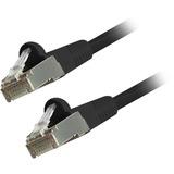 Comprehensive Cat6 Snagless Shielded Ethernet Cables, Black, 5ft