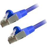 Comprehensive Cat6 Snagless Shielded Ethernet Cables, Blue, 15ft