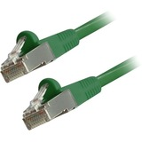 Comprehensive Cat6 Snagless Shielded Ethernet Cables, Green, 50ft