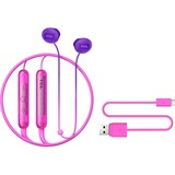 TCL Sunrise Purple Wireless In-ear Bluetooth Headphones with Mic