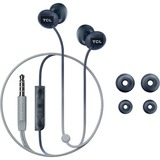 TCL Phantom Black In-ear Headphones with Mic