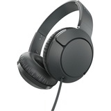 TCL Shadow Black On-ear Headphones with Mic