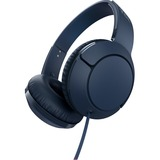 TCL Slate Blue On-ear Headphones with Mic