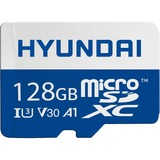 Hyundai 128GB microSDXC UHS-1 Memory Card with Adapter, 95MB/s (U3) 4K Video, Ultra HD, A1, V30 (SDC128GU3)