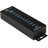 StarTech.com 10 Port USB Hub w/ Power Adapter