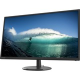 """Lenovo C32q-20 31.5"""" WQHD WLED LCD Monitor - 16:9 - Raven Black - 32"""" Class - In-plane Switching (IPS) Technology - 2880 x 1440 - 1.07 Billion Colors - FreeSync - 250 Nit Typical - 4 ms - 75 Hz Refresh Rate - HDMI - DisplayPort"""