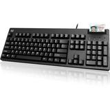 Adesso TAA Compliant Smart Card Reader Keyboard