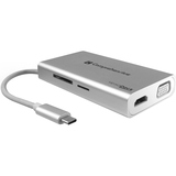 Comprehensive VersaDock USB-C 4K Portable Docking Station with HDMI, USB 3.0 & VGA