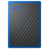 WD My Passport Go WDBMCG0020BBT-WESN 2 TB Portable Hard Drive