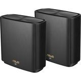 Asus ZenWiFi AX XT8 Wi-Fi 6 IEEE 802.11ax Ethernet Wireless Router