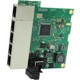 Brainboxes Embedded Industrial 5 Port Gigabit Ethernet Switch