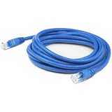 AddOn 5ft RJ-45 (Male) to RJ-45 (Male) Straight Blue Cat6A UTP PVC Copper Patch Cable