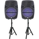 Naxa NDS-1518D Portable Bluetooth Speaker System