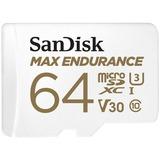 SanDisk MAX ENDURANCE 64 GB Class 10/UHS-I (U3) microSDXC