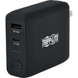Tripp Lite Portable USB Mobile Power Bank Battery Wall Charger Combo 5K mAh