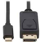 Tripp Lite USB-C to DisplayPort Bi-Directional Adapter Cable, M/M, 6 ft.