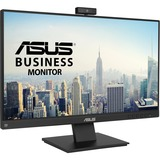 """ASUS BE24EQK 23.8"""" 1080P Full HD IPS Business Monitor with Built-in Adjustable 2MP Webcam"""