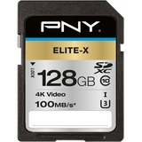 PNY Elite-X 128 GB Class 10/UHS-I (U3) SDXC
