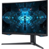 """Samsung Odyssey G7 C27G75TQSN 26.9"""" WQHD Curved Screen Quantum Dot LED Gaming LCD Monitor"""