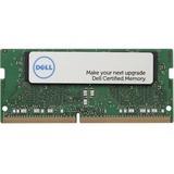Dell 8GB DDR4 SDRAM Memory Module - 8 GB - DDR4-2666/PC4-21333 DDR4 SDRAM - 2666 MHz - 260-pin - SoDIMM