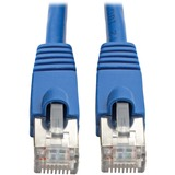 Tripp Lite Cat6a Ethernet Cable 10G STP Snagless Shielded PoE M/M Blue 15ft