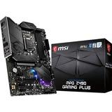 MSI MPG Z490 GAMING PLUS Desktop Motherboard