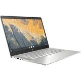 "HP Pro c640 14"" Chromebook Enterprise Intel Core i3 8GB RAM 64GB eMMC Pike Silver Aluminum"