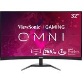 "Viewsonic VX3268-PC-MHD 31.5"" Full HD Curved Screen LED Gaming LCD Monitor"
