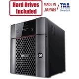 Buffalo TeraStation 3420DN Desktop 32 TB NAS Hard Drives Included