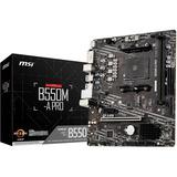 MSI B550M-A PRO MATX Motherboard DVI, HDMI