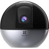 EZVIZ 4MP Indoor Camera PTZ with AI Human Detection, 2K Pan Tilt Security, Baby/Pet Monitor, Night Vision, Motion Tracking | C6W