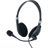 Verbatim Stereo Headset with Microphone and In-Line Remote