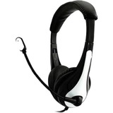 Ergoguys Wired Headset with 3.5mm Plug, Black/White