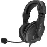 Ergoguys Black Lightweight Headset with Adjustable Mic