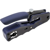 Tripp Lite Crimping Tool with Cable Stripper for Pass-Through RJ45 Plugs