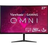 "Viewsonic VX2718-2KPC-MHD 27"" QHD Curved Screen LED Gaming LCD Monitor"