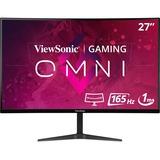 """Viewsonic VX2718-2KPC-MHD 27"""" QHD Curved Screen LED Gaming LCD Monitor"""