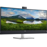 "Dell C3422WE 34.1"" WQHD Curved Screen Edge WLED LCD Monitor - 21:9 - Platinum Silver - 34"" Class - In-plane Switching (IPS) Technology - 3440 x 1440 - 1.07 Billion Colors - 300 Nit - 5 ms GTG (Fast) - HDMI - DisplayPort - USB Hub, KVM Switch"