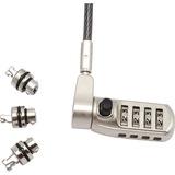 Codi Universal Serialized Combination Lock Body w/ T-Bar, Noble, and Nano Lock Heads