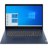 "Lenovo IdeaPad 3 17.3"" Laptop Intel Core i7-1065G7 8GB RAM 256GB SSD Abyss Blue"