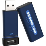 SecureDrive Hardware-Encrypted USB Flash Drive with Phone Authentication