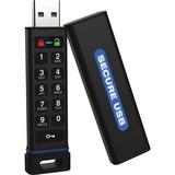SecureDrive Hardware-Encrypted USB Flash Drive with Keypad