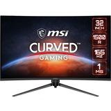 "MSI Optix AG321CQR 31.5"" WQHD Curved Screen LED Gaming LCD Monitor"