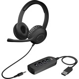 Cyber Acoustics Stereo Headset with USB & 3.5mm