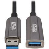 Tripp Lite U330F-10M-G1 Fiber Optic Extension Data Transfer Cable